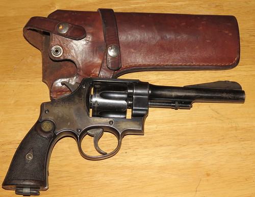 Model 1917 S&W with an S&W Holster.