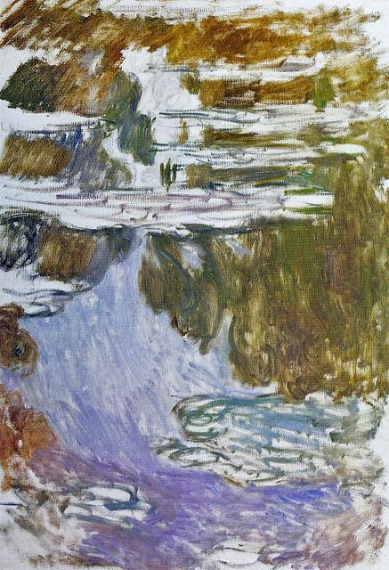 W 1717  Monet - Water lilies - Nymphéas [1907]