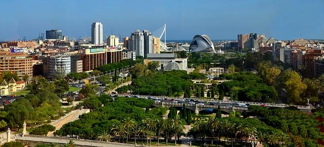 Valencia: Jardines del Turia
