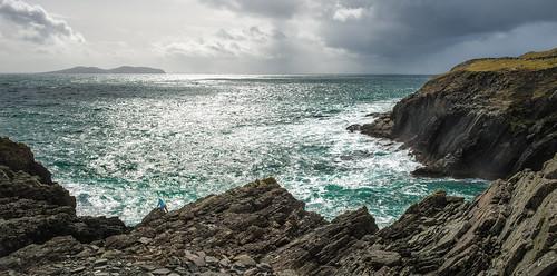ocean ireland sea wild island big cliffs atlantic huge kirsten majestic clareisland rugged wildatlanticway