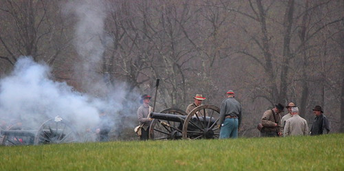 Appomattox 150th: Confederate Cannon Fire