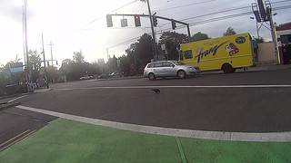 red car at 3min 30 seconds