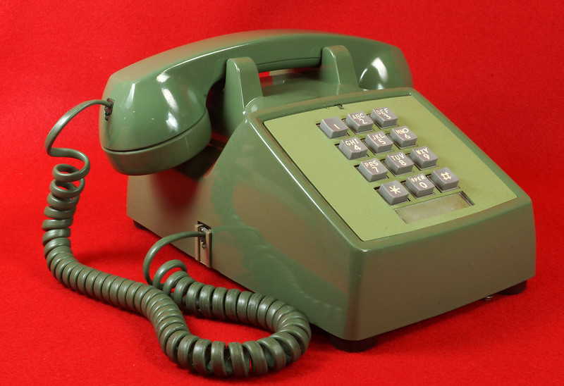 SOLD - Vintage Western Electric Push Button Phone Model