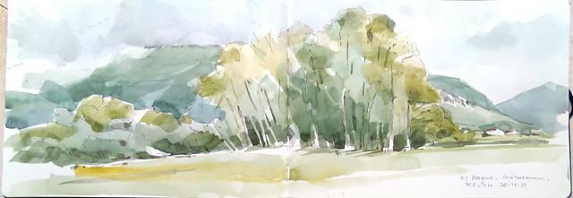 Desde campamento El Pinsapar, El Bosque, Sierra de Grazalema (Cádiz)