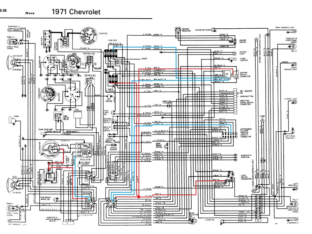 1971 Nova Wiring Diagram