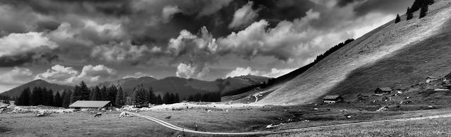 Siebenhütten Schwägalp, Appenzellerland.