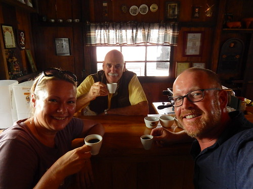 Boquete - Cafe Kotowa - koffie tour met gids Hans