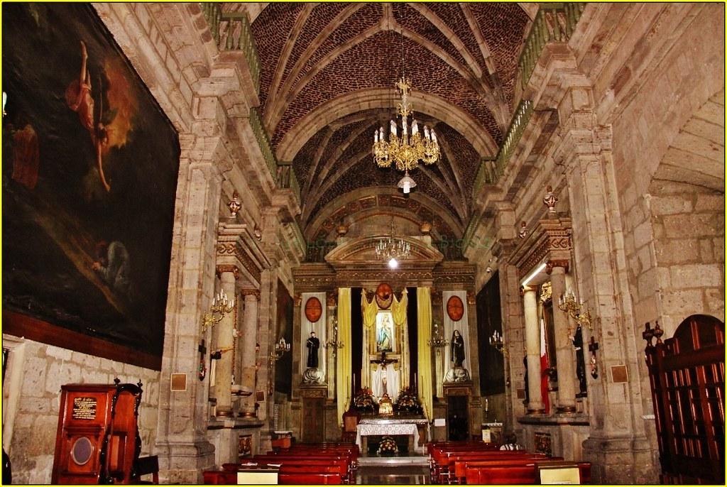 Templo De Las Capuchinas La Inmaculada Concepci 243 N Guadal