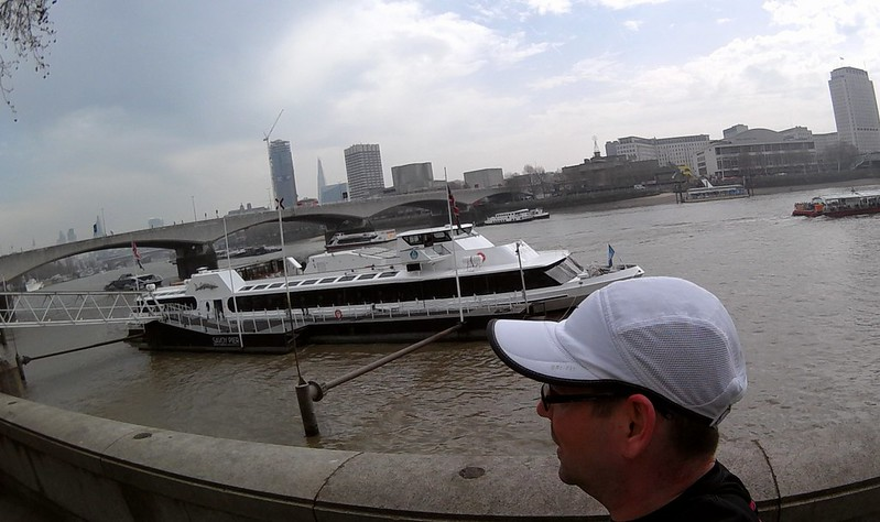 Lunchtime Run, London South Bank