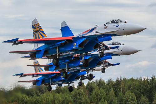 "Su-27 ""Russian Knights""   by RealHokum"