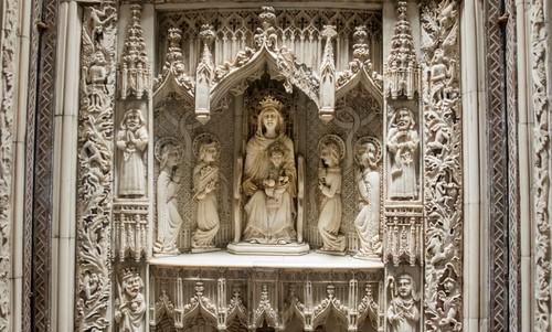 Relic at Milton Abbey