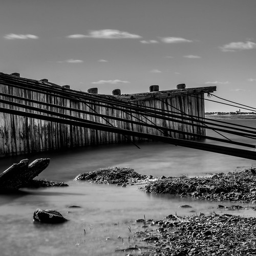 blackandwhite mono capecod massachusetts yarmouthport 10stop nd110 sandynecklight shortwharfcreek