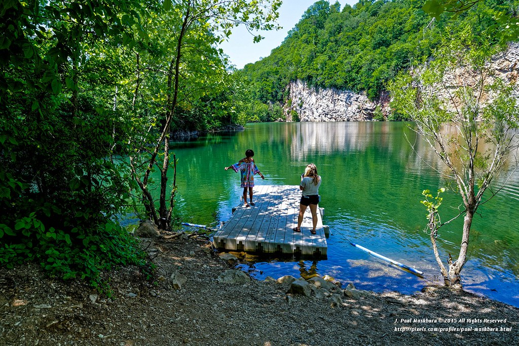 Meads Quarry Lake (8) | Once one of the murkiest spots in al