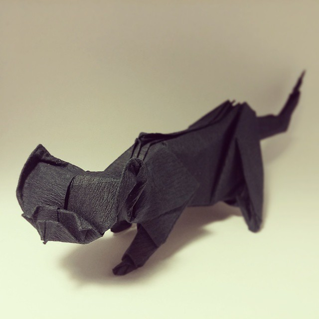 Cute Origami Kitten 🐱 Cat Easy Tutorial and Instructions - YouTube   640x640