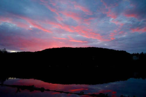 sunset weather project de soleil yahoo quebec may coucher mai app sainthippolyte metéo