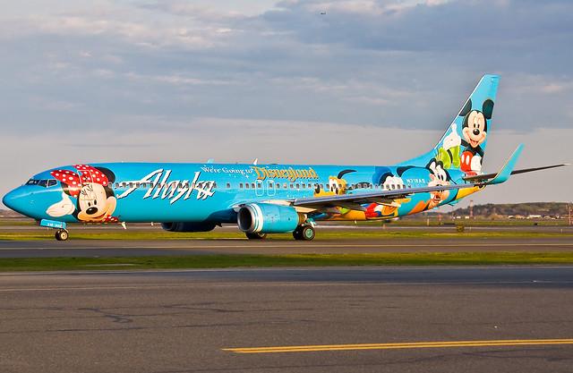 Disneyland via Alaska
