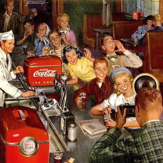Coca-Cola Fountain Photographer