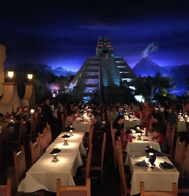 Orlando - Disney World - EPCOT - 2016 Epcot Flower and Garden Festival - World Showcase - Mexico - San Angel Inn