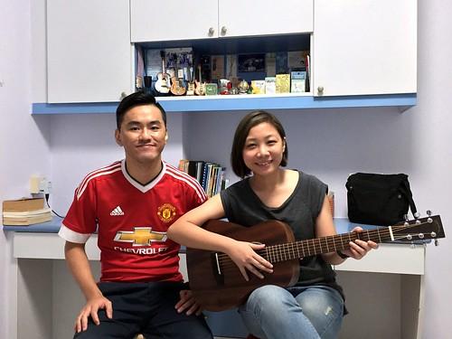 Guitar lessons Singapore Xiu Wei