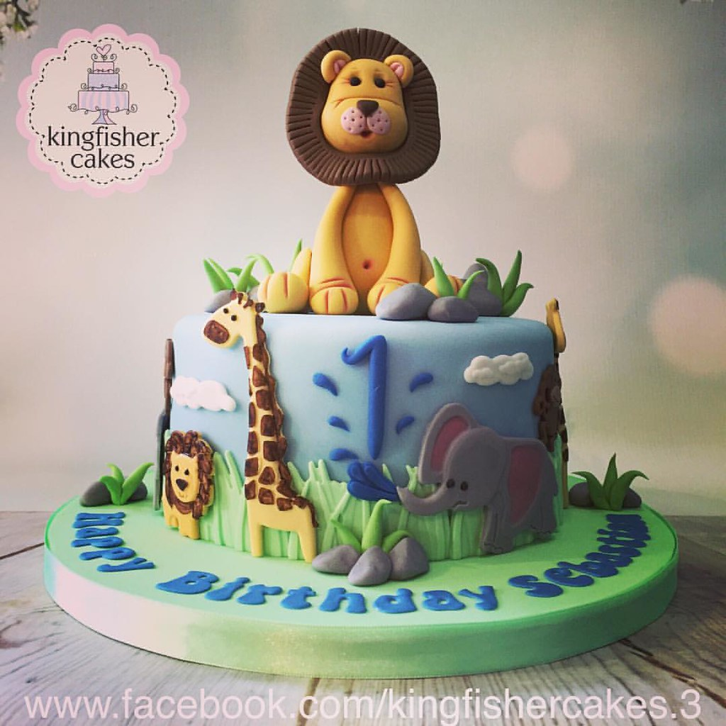 Incredible Next Cake For Last Weekend Was This Little Boys First Birt Flickr Funny Birthday Cards Online Amentibdeldamsfinfo