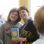 Jo Cotterill Book Signing   Children's author Jo Cotterill meets her fans © Alan McCredie