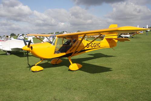 G-CGYC Eurofox 912 [LAA 376-15100] Sywell