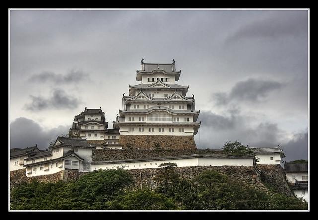 Himeji J -  Himeji-jō  White Heron Castle 01