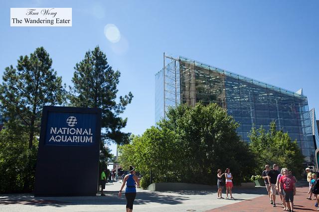 Entrance to National Aquarium