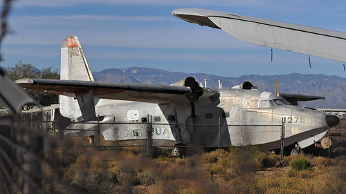 aircraft bone yard beside the Davis-Monthan Air Force Base | by Shot Yield Photography