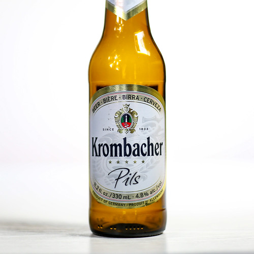 Pilsner Showdown Beers - Krombacher Gruppe - Krombacher Pils | by fourbrewers