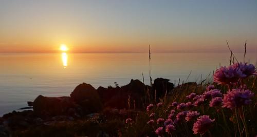 sunset machrihanish