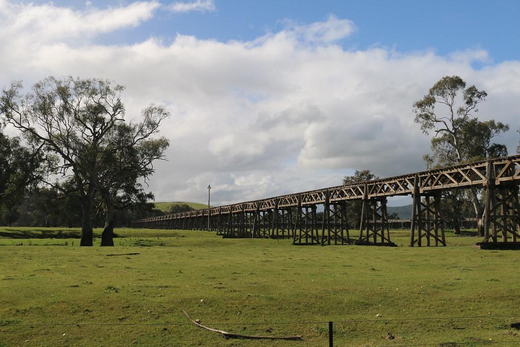 Old Railway Bridge, Gundagai - 2 by Jungle Jack