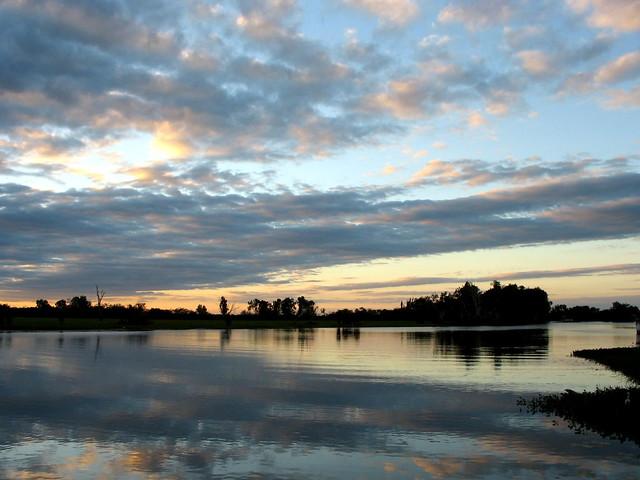 Kakadu Sunset - Yellow Waters