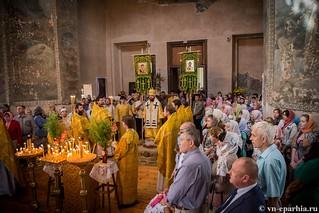 Литургия в Ильинском соборе 630