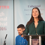 Sarah Howe   Two of the most powerful young voices in British poetry open the Book Festival 2016 © Alan McCredie