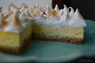 cheesecake lime meringue | by Awfully Tasty by Narcisa Viorel