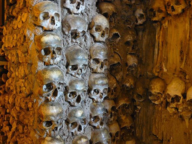 Capilla de los huesos de Évora (Alentejo, Portugal)