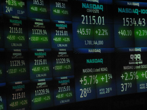 NASDAQ - Times Square | by luisvilla