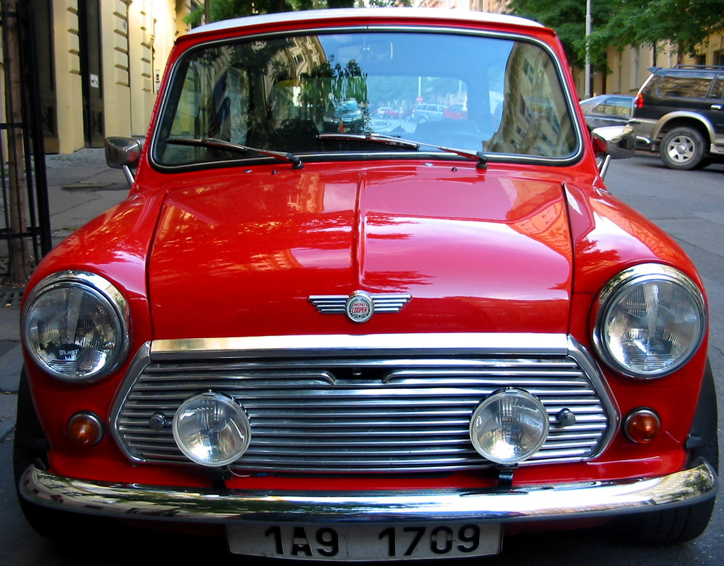 Old School Mini Cooper From The British Motor Company Flickr