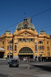 Flinders Street Station   by thetejon