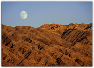 Moon Over Death Valley | by Extra Medium