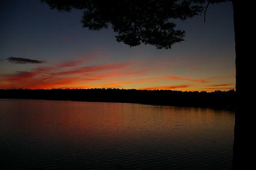 new sunset sky lake clouds stars newhampshire nh hampshire ayers barrington ayerslake