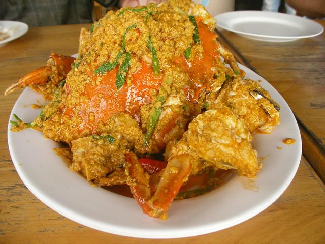 サムイ-蟹のカレー炒め