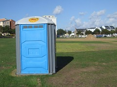 Toilet - supplied by Rebecca Loos