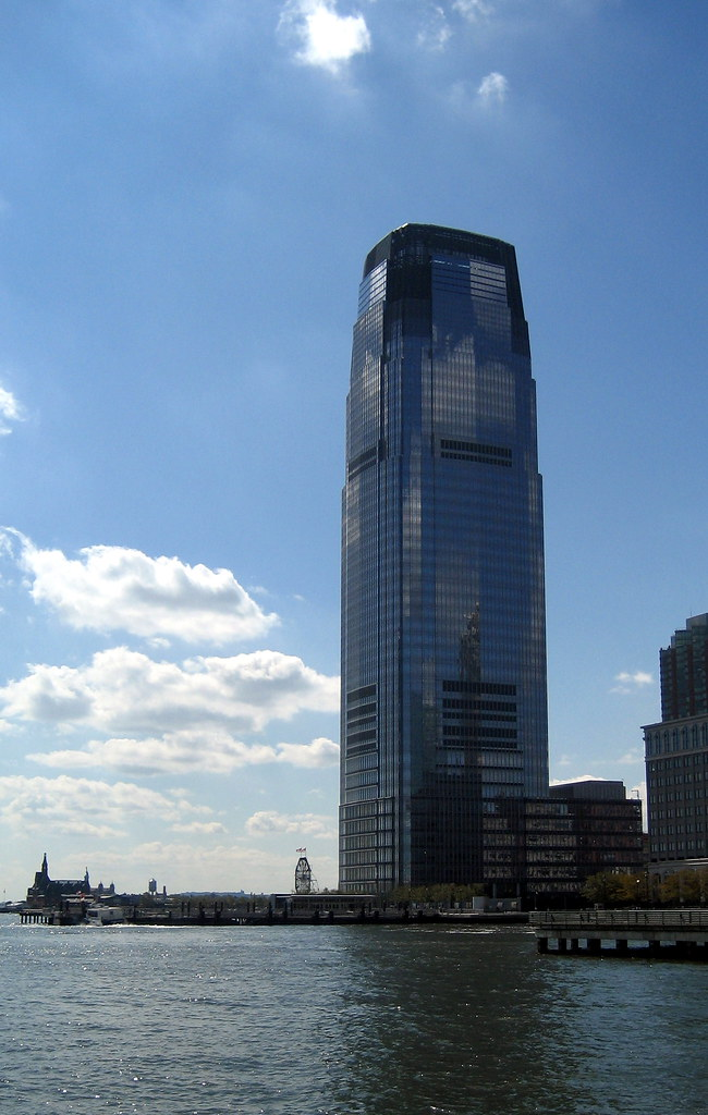 Jersey City Goldman Sachs Tower Goldman Sachs Tower At
