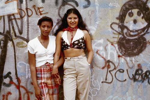 Public Domain: Latin Girls in Brooklyn, 1974 by Danny Lyon (NARA/EPA)   by pingnews.com