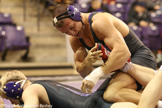 174- Adam Cooling, MSU, won by technical fall over Shane Gallagher, 16-1 (16-1)