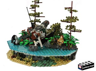 Journey through the wastelands (Age10) | by hellboy.lego