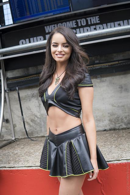 BSB Brands Hatch GP 2017 - Monster Energy grid girl Maura