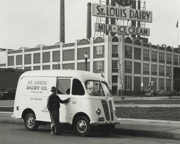 St. Louis Dairy Van & The Factory with the Clock (1942)